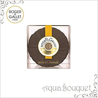 ロジェガレ オレンジパフューム ソープ 香水石鹸 100g ROGER&GALLET BOIS D'ORANGE PERFUMED SOAP(プラスチック簡易ケース入り) [並行輸入品]