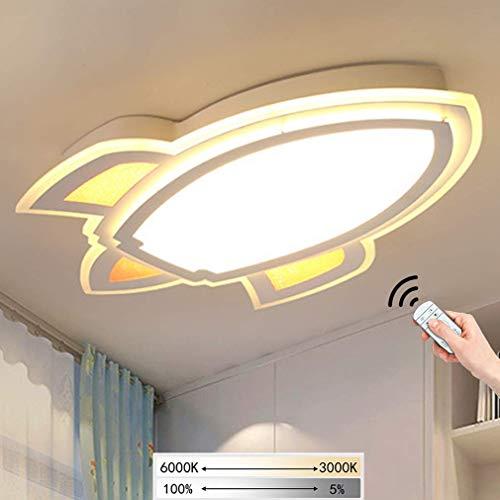 Kinderzimmerlampe LED Junge Mädchen Schlafzimmer Deckenleuchte Kinderzimmer Lampe Deckenlampe Dimmbare...