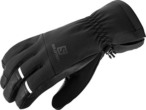Salomon Herren Leichte Handschuhe, PROPELLER DRY M, Schwarz/Schwarz, Gr. L, LC1182100