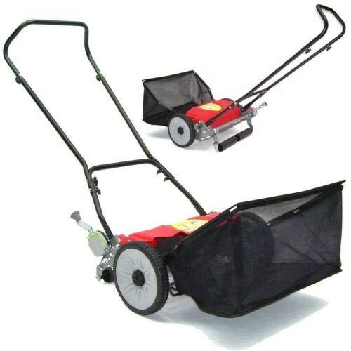 Cortacésped manual 55920, 460 mm, con cesta de recogida de 46 cm