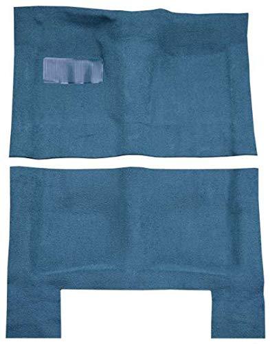ACC Carpet Kit Compatible with 1965 to 1970 Chevrolet Bel-Air, 4 Door (501-Black 80/20 Loop) Bel Air Carpet Kit