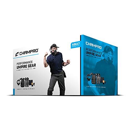 CHAMPRO Starter Umpire Kit: Performance Umpire Gear Box Set, Black, One Size (CBSUSK)