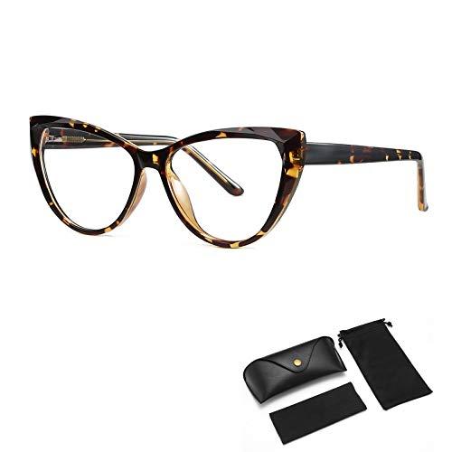 HUALUWANG Gafas Anti-Azules, Gafas BLU-Ray Gafas Blue-Ray para Hombre, Utilizadas para Juegos de Ordenador/TV/Teléfono Anti Fatiga Ocular, Gafas Anti-Azules sin Montura