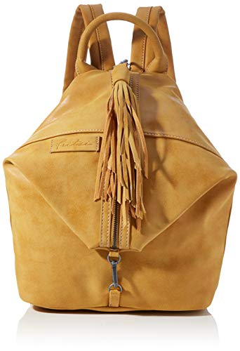 Fritzi aus Preussen Damen Fritzi Marit Backpack medium Rucksack, Honey Mustard, One Size