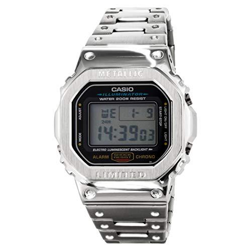 カスタムG-SHOCK Gショック メタルケース DW5600E-1V メンズ GMW-B5000D-1JF スタイルケース (シルバー) [並行輸入品]