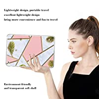 PRINDIY iPad Air 1/iPad Air タブレットケース,耐震性 キズ防止 スリム ハード 防塵 落下に強い クリア ソフトTPUシリコーン 軽量 背面カバー iPad Air 1/iPad Air Case-D 37