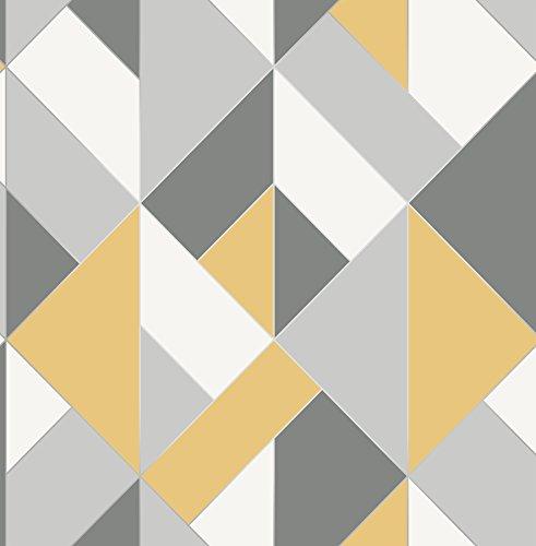 Urban Walls UW24781 - Muro lateral estructurado, color amarillo