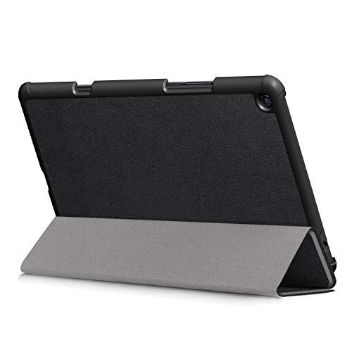 Kepuch Custer Cover per Xiaomi Mi Pad 4 Plus 10.1,PU-Pelle Case Custodia per Xiaomi Mi Pad 4 Plus 10.1 - Nero