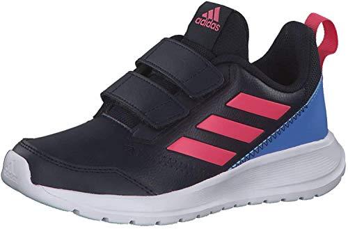 adidas Performance adidas G27230 AltaRun CF Jungen Mädchen Sportschuh aus Mesh Textilausstattung, Groesse 37 1/3, dunkelblau/pink