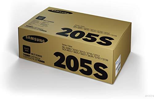 Samsung MLT-D205S/ELS Original Toner (Hohe Reichweite, Kompatibel mit: ML-3310, SCX-4833, ML-3710, SCX-5637, SCX-5737) cyan