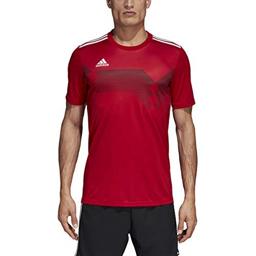 adidas Campeon 19 Jersey - Men's Soccer S Power Red/White