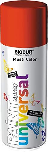 RAL3000 - Spray de pintura para llantas, color rojo fuego