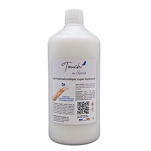 Gel hydroalcoolique hydratant Touch' by LiqWild - 1L