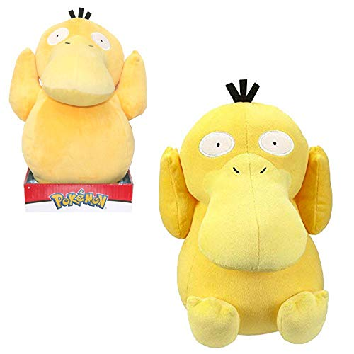 Lively Moments Pokemon Plüschtier / großes Kuscheltier / Plüschfigur Enton / Psyduck ca. 26 cm