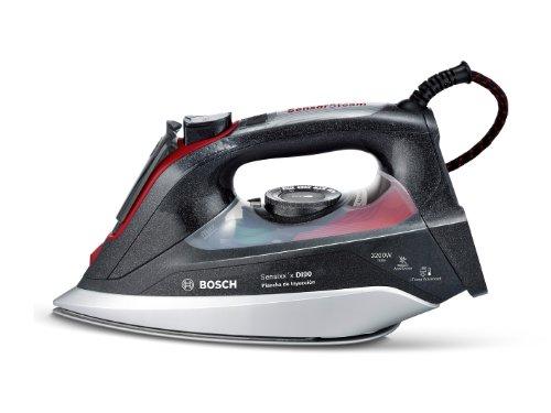 Bosch TDI903239A Sensixx'x DI90 - Plancha de inyección, 3200 W, 200 g de supervapor, 65 g/min, Negro
