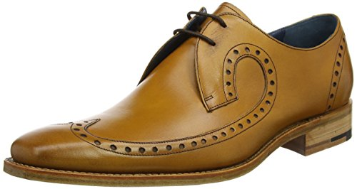 Barker Mens Woody Cedar Calf Leather Shoes 11 UK