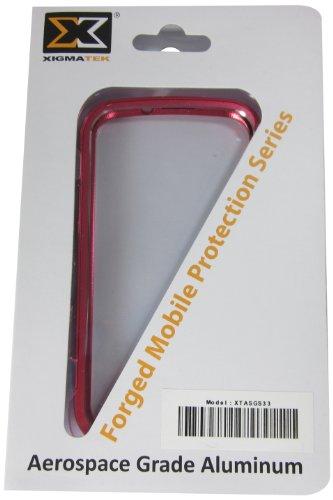 Xigmatek XTASGS33 Schutzhülle für Samsung Galaxy S3 (geschmiedetes Design) Rot