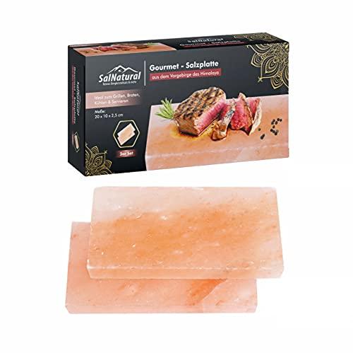 SalNatural Gourmet Salz-Grillsteine...