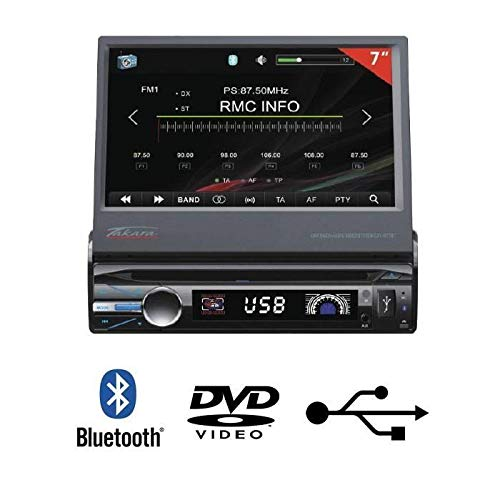 TAKARA CDV1877BT Autoradio 7 Bluetooth Multimedia