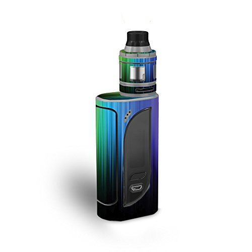 MightySkins Skin Compatible with Eleaf iKonn 220 - Rainbow Streaks | Protective, Durable, and Unique Vinyl Decal wrap Cover | Easy to Apply, Remove, and Change Styles | Made in The USA