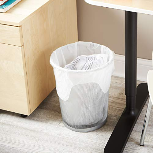 Hefty Flap Tie Medium Trash Bags - 8 Gallon, 12 Packs of 24 Count (288 Total)