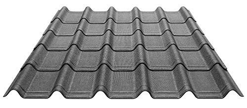 Paket von 7 Onduvilla® Dach- u. Wandplatten aus Bitumen zur Eindeckung von Carports, Gartenhäuser
