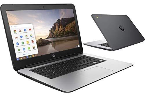 BLACK HP CHROMEBOOK 14in G1 INTEL 1.4GHZ 4GB RAM 16GB SSD HD WEBCAM CHROME OS (Renewed)
