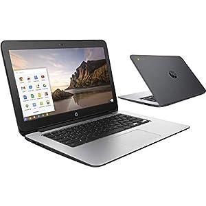 BLACK HP CHROMEBOOK 14in G1 INTEL 1.4GHZ 4GB RAM 16GB SSD HD WEBCAM CHROME OS (Renewed) 21