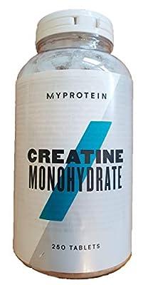MY PROTEIN Creatine Monohydrate Unflavoured Creatine, 250 Tablets