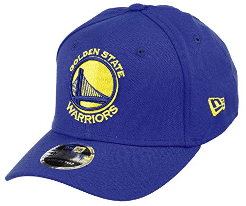 New Era Golden State Warriors 9fifty Stretch Snapback cap NBA Essential Blue - One-Size