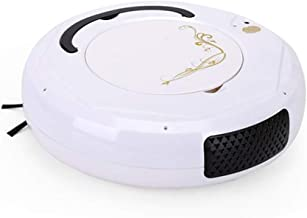 The Intelligent Sweeping Robot Three-in-one Multi-Functional Vacuum Cleaner Fingerprint is Turned On and Used and Has Brig...