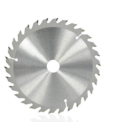 Diámetro de la hoja de sierra de madera 150 mm 16 24 30 dientes Disco de sierra TCT Disco de corte con punta de carburo Hoja de sierra circular-150x20x24T