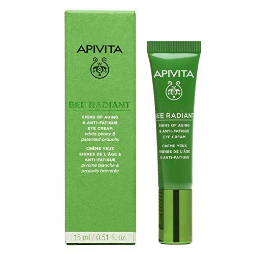 Apivita Bee Radiant Contorno de ojos antiarrugas & antifatiga (1 unidad x 15 mililitros)