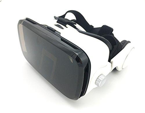 VR auricular Virtual Reality con auriculares adaptar cartón vídeo Película parte Box Fit para iPhone o Android