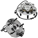 Detroit Axle - Front Wheel Bearing and Hub Assembly Replacement for 2002-2005 Dodge Ram 1500 w/ABS - 2pc Set