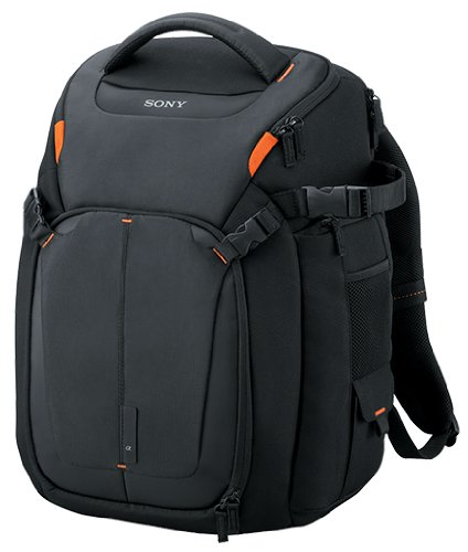 Sony LCSBP3 DSLR System Backpack with Laptop Storage, (Black),Large