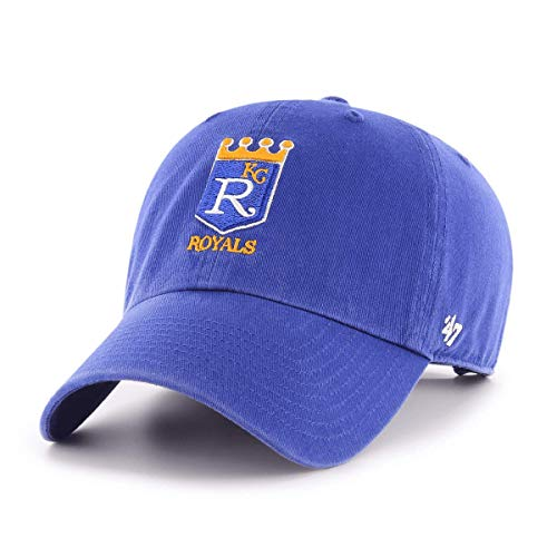 Kansas City Royals Cooperstown Clean Up Adjustable Hat