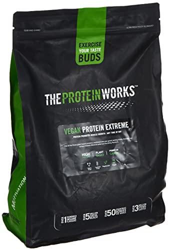 Proteina Vegana Extreme In Polvere | Biscotto Digestive al Cioccolato | 100% a base vegetale | CINQUE fonti proteiche | Vitamine e minerali aggiunti | THE PROTEIN WORKS | 2kg