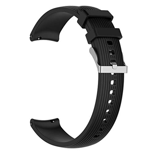 DALIN Correa de silicona para Samsung Galaxy Watch R800/R810/R815, 20/22 mm