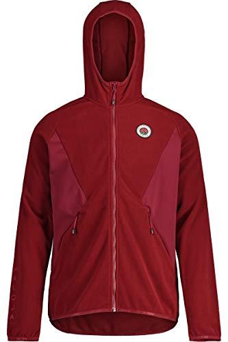 Maloja Chum. Fleece-Jacke für Herren M Roter Mönch
