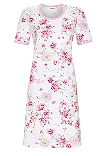 Ringella Damen Nachthemd mit Blumendessin bunt 38 1211019, bunt, 38