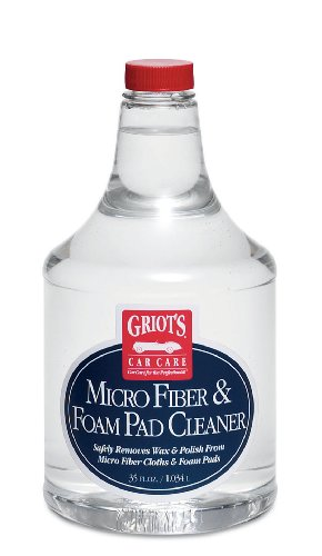 Griot's Garage 11078 Micro Fiber and Foam Pad Cleaner 35oz Kansas