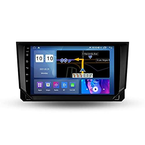 ADMLZQQ Autoradio Coche para Seat Ibiza 2017-2020 Bluetooth 2 DIN Android Radio De Coche 9'' Pantalla Táctil 5G WiFi Plug and Play Completo RCA Soporte Carautoplay/GPS/Dab+/OBDII,M300s