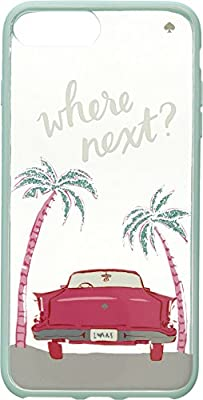 Kate Spade New York Womens Where Next Phone Case for iPhone 7 Plus/iPhone 8 Plus