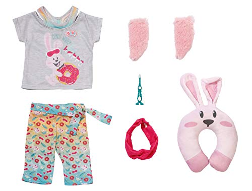 Zapf Creation 829363 BABY born Bath Deluxe Gute Nacht Set Puppenkleidung 43 cm