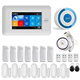 GSM/3G & WIFI Security Alarm System, Wireless Smart Home Burglar Security System, Large