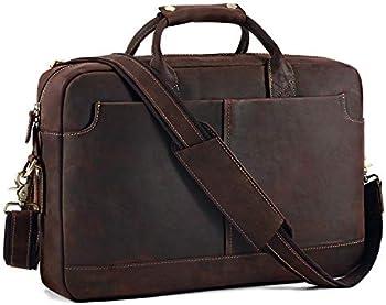 Kattee Vintage Genuine Leather 15.6