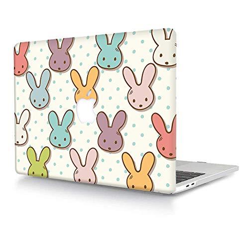 ACJYX Funda Compatible con MacBook Pro 16 Pulgadas 2020 2019 (Modelo: A2141), Carcasa Dura Plástico Case Cubierta para MacBook Pro 16 con Touch Bar y Touch ID - Conejo