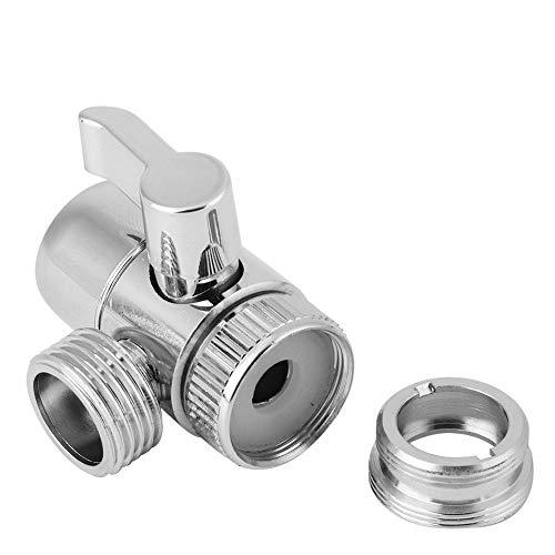 Kit de ducha de mano, conjunto de adaptador de convertidor de grifo y cabezal de ducha de mano, accesorios para el kit de lavado de cabello en el baño doméstico(Convertidor de grifos)