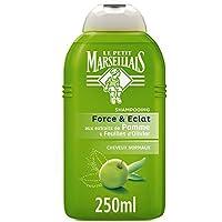 Le Petit Marseillais–Champú cabello normal manzana olivo–Bote 250Ml–Juego de 3